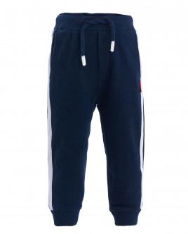 Синие брюки из футера OUTLET