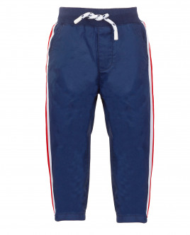 Синие брюки с лампасами Gulliver OUTLET