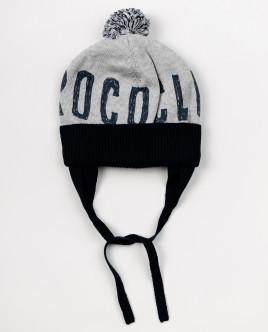 Вязаная шапка на подкладке OUTLET