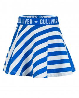 Юбка в синюю полоску Gulliver OUTLET