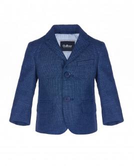 Синий нарядный пиджак OUTLET