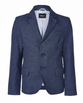 Синий нарядный пиджак Gulliver OUTLET