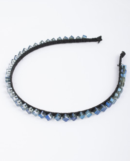 Синий ободок с декором OUTLET