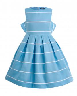Бирюзовое платье в полоску OUTLET