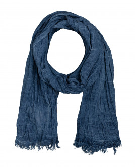 Синий шарф Gulliver