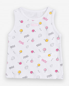 Printed tank top Gulliver