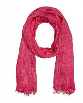 Розовый шарф