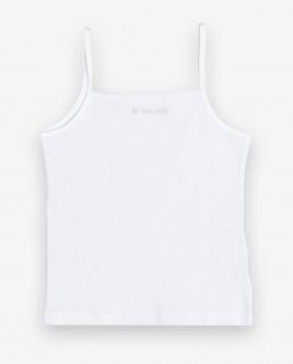 Купить 12000GC9002, Белая майка для девочки, Gulliver Wear, белый, 146-152, Женский