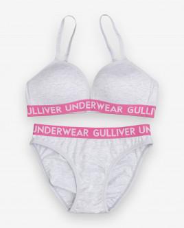 Комплект из топа и трусов Gulliver