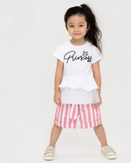 Белая футболка с коротким рукавом Gulliver