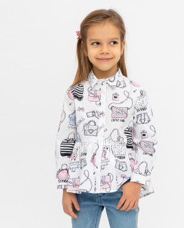 Printed blouse Gulliver