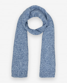 Blue knitted scarf Gulliver