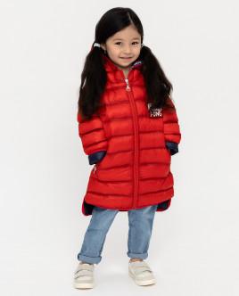 Red mid season coat Gulliver