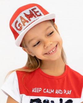 Red baseball cap Gulliver