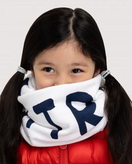Белый трикотажный шарф Gulliver Gulliver