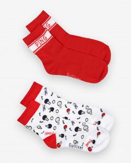 Socks set, 2 pairs Gulliver