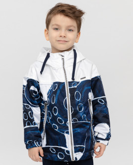 Printed windbreaker Gulliver