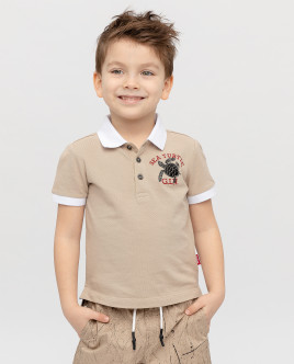 Printed polo shirt Gulliver