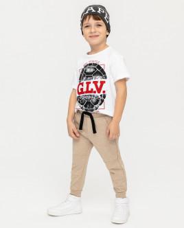 Бежевые брюки Gulliver