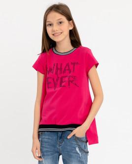 Розовая футболка с коротким рукавом Gulliver