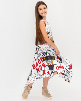 Printed dress Gulliver