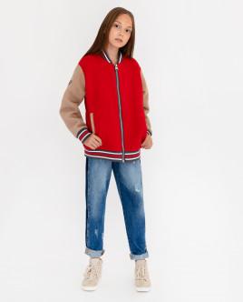 Красная демисезонная куртка Gulliver