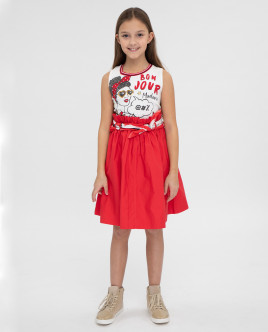Комплект из платья и платка 12008GJC5004 фото