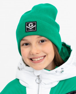 Green knitted hat Gulliver