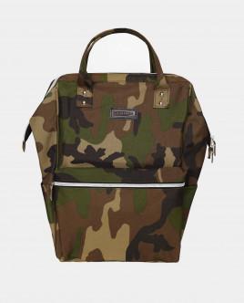 Рюкзак с камуфляжным принтом Gulliver
