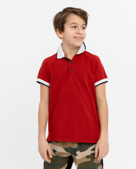 Red polo shirt Gulliver