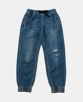 Купить 12011BJC6306, Брюки, Gulliver Wear, синий, 134, Мужской