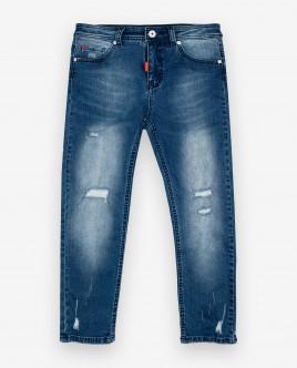 Голубые джинсы Gulliver Gulliver Wear 12012BJC6308 голубого цвета