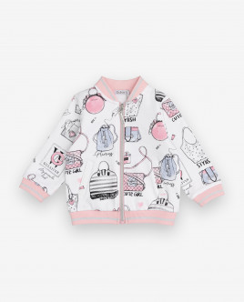 Printed zipped sweatshirt Gulliver