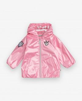 Pink windbreaker Gulliver