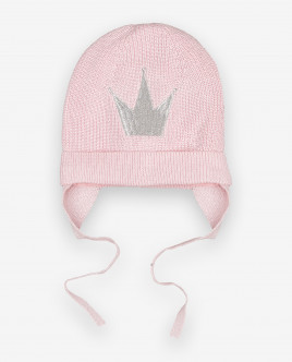 Pink knitted hat Gulliver