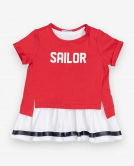 Комплект из платья и футболки Gulliver