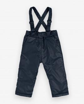 Утепленные демисезонные брюки 12032GBC6402 фото