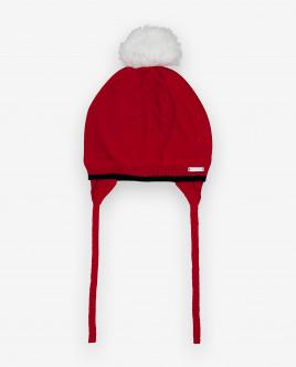 Красная вязаная шапка 12032GBC7303 фото