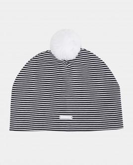 Трикотажная шапка в полоску Gulliver