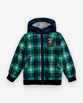 Checked windbreaker Gulliver