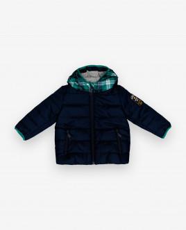Купить 12033BBC4101, Демисезонная куртка с капюшоном, Gulliver Wear, черный, 74, Мужской