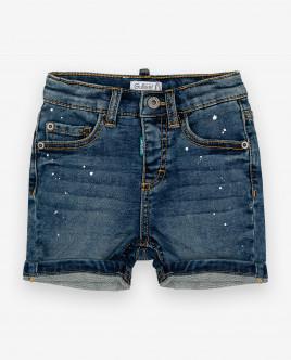 Синие джинсовые шорты 12033BBC6003 фото