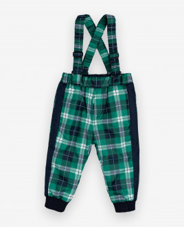 Checked warm mid-season trousers Gulliver