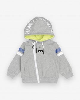 Grey hoodie Gulliver
