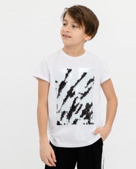 Белая футболка Gulliver