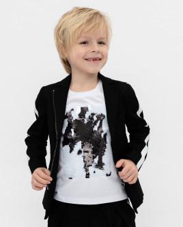 Купить 120GPBMC4802, Черный пиджак, Gulliver Wear, черный, 104, Мужской