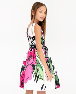 Printed party dress Gulliver