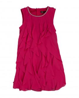 Купить 120GPGMC2507, Розовое нарядное платье, Gulliver Wear, фуксия, 104, Женский