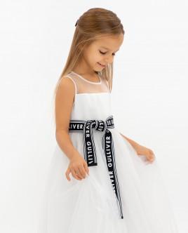Купить 120GPGMC2508, Белое нарядное платье, Gulliver Wear, белый, 110, Женский