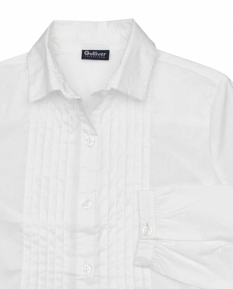 Блузка с защипами